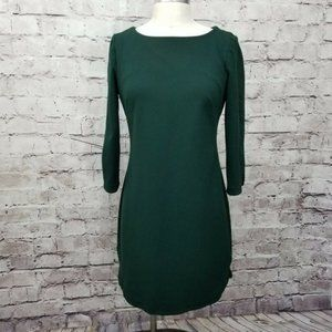 Vince Camuto Hunter Green Midi Dress - Size 12